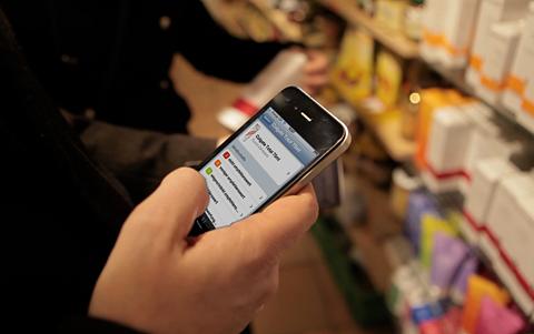 iPhone App hilft Blinden, Produkte zu erkennen