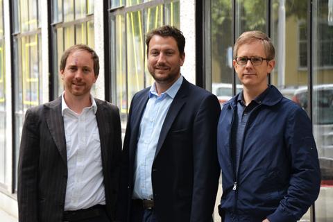 Codecheck.info Management Team: Roman Bleichenbacher (links), Boris Manhart (Mitte) und Manuel Bleichenbacher (rechts