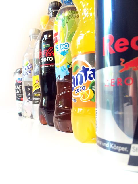 Zero Getränkeflaschen