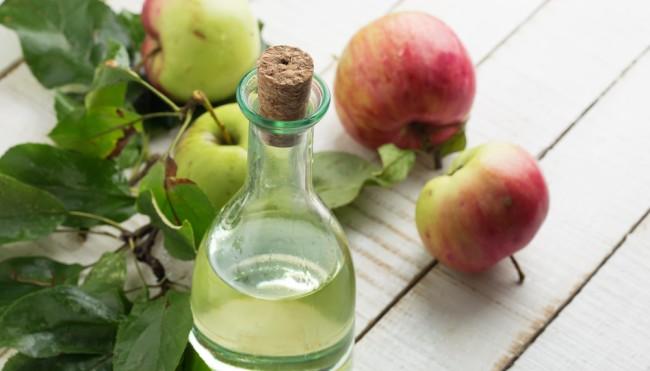 Apfelessig zur hautpflege