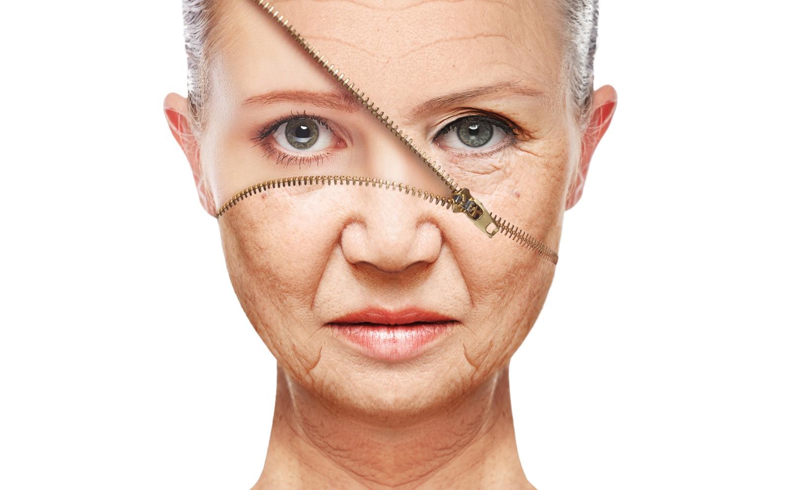 Die Masken der Abnahme der Geschwollenheit der Person