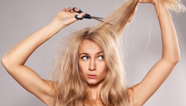 Lange haare spliss vermeiden