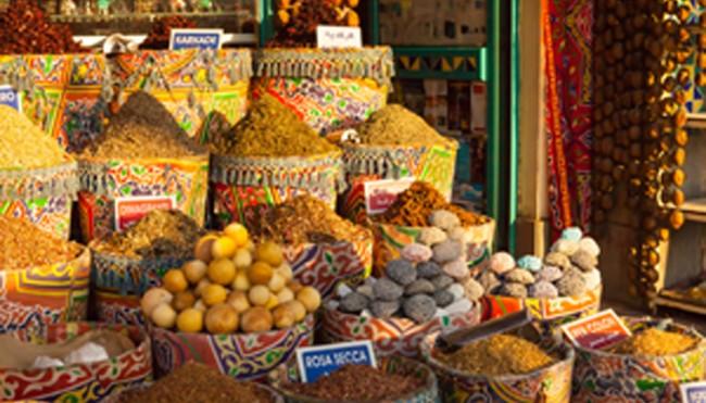Orientalische Küche   Markt In Kairo