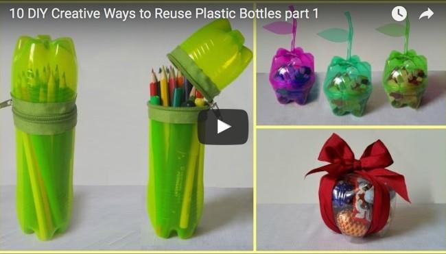 10 tipps was du aus plastikflaschen basteln kannst aus m ll mehrwert machen. Black Bedroom Furniture Sets. Home Design Ideas