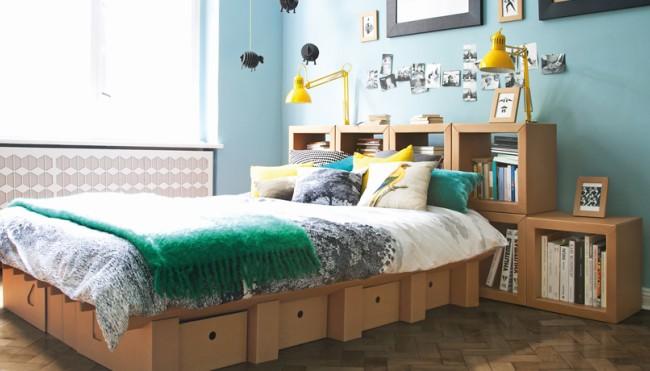 Nachhaltige Möbel: Bett aus Pappe - Wenn der Postbote das Bett ...