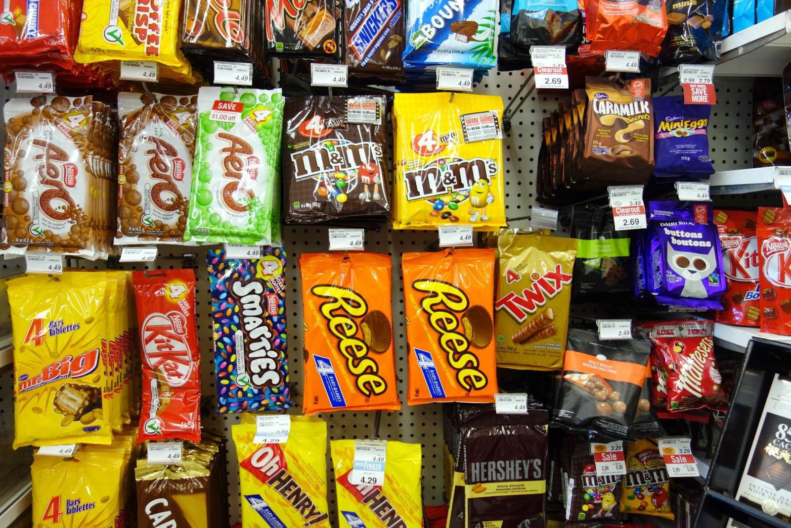 Healthy Snack Food Packaged